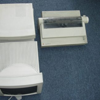 2 Apple Macintosh LC II Perfoma Computer Imagewriter Printer 12 RGB Monitor 264594046340