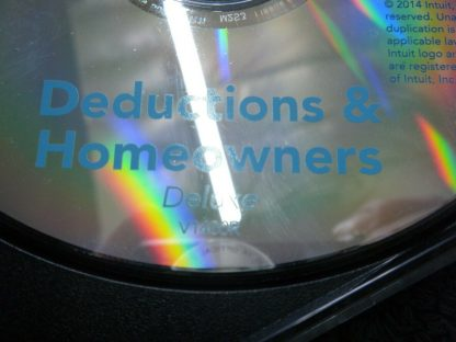 2014 Intuit Turbo Tax Deductions Homeowners Deluxe Federal state Returns 264539966190 3