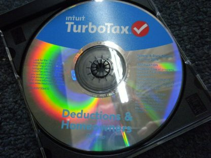 2014 Intuit Turbo Tax Deductions Homeowners Deluxe Federal state Returns 264539966190