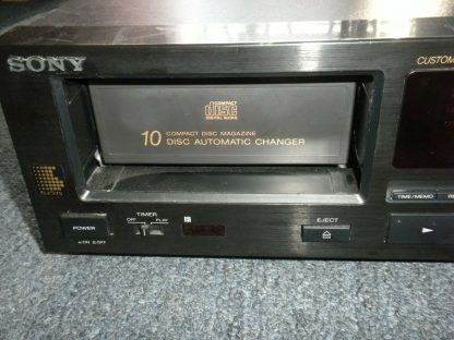Sony 10 CD Changer DCP C910 Audiophile Quality Works Great 274147837140 4