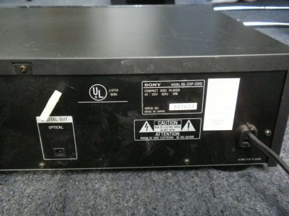 Sony 10 CD Changer DCP C910 Audiophile Quality Works Great 274147837140 9