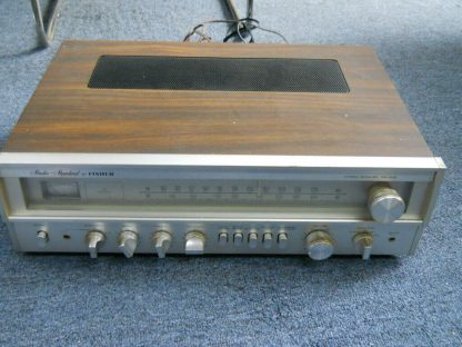Super nice VINTAGE FISHER RS 1015 Receiver AM FM Wood Cabinet Runs Excellent 264716949660