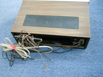 Super nice VINTAGE FISHER RS 1015 Receiver AM FM Wood Cabinet Runs Excellent 264716949660 5