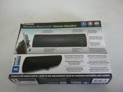 Xtreme Wireless Bluetooth Stereo Speaker Black Mic Rechargeable Works Great 274115792090 2