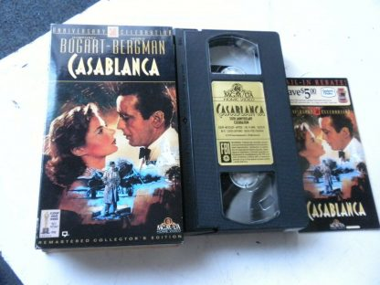 lot of 9 VHS Casablanca Father of bride Heartburn An Affair to remember Gigi etc 264517366710 3