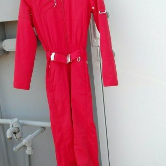 BOGNER GOAN THYLMANN women ONE PIECE RED SKI SUIT Size 4 34 274371701921