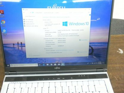 Fujitsu lifebook s6510 C2D 22Ghz 25GB RAM 120GB HD DVDRW Win 10 Pro Works 274403504971 2