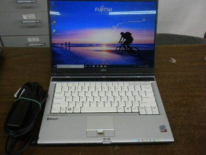 Fujitsu lifebook s6510 C2D 22Ghz 25GB RAM 120GB HD DVDRW Win 10 Pro Works 274403504971