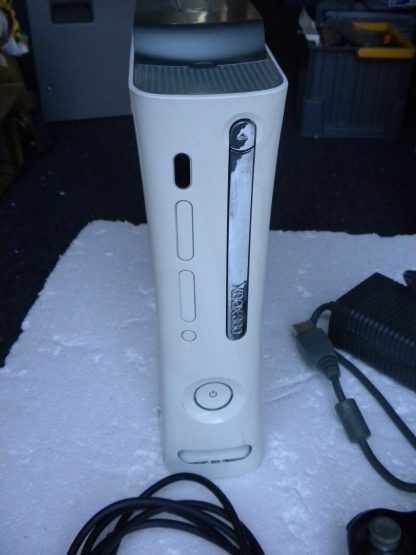 Microsoft Xbox 360 White 2006 Console with AC Adapter Cables Controller 264263506311 2