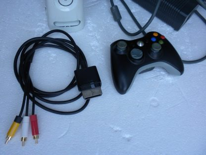 Microsoft Xbox 360 White 2006 Console with AC Adapter Cables Controller 264263506311 3