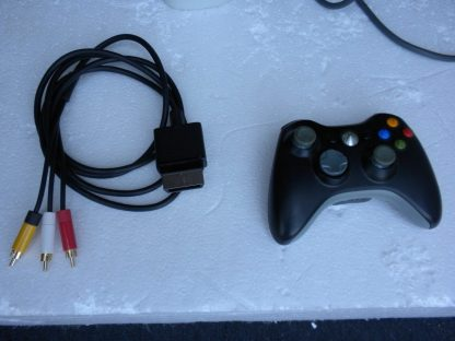 Microsoft Xbox 360 White 2006 Console with AC Adapter Cables Controller 264263506311 4