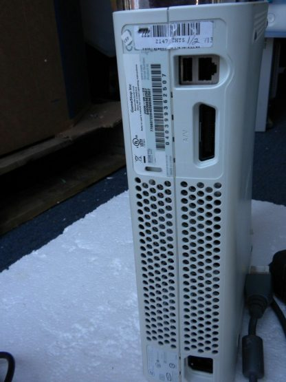 Microsoft Xbox 360 White 2006 Console with AC Adapter Cables Controller 264263506311 6