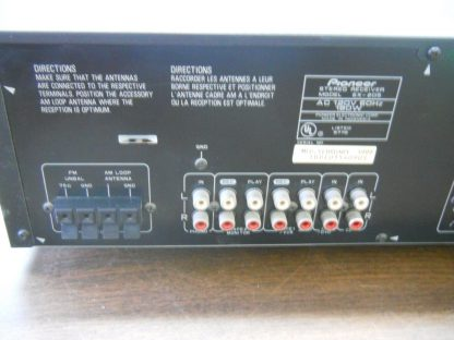 Pioneer SX 205 21 Channel 200 Watt Receiver Works 264580448061 6