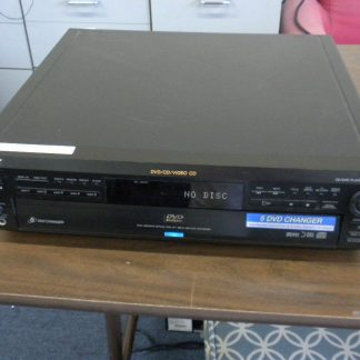 SONY DVP C600D 5 Disc DVDCDVCD PlayerChanger Works Great 264580448051