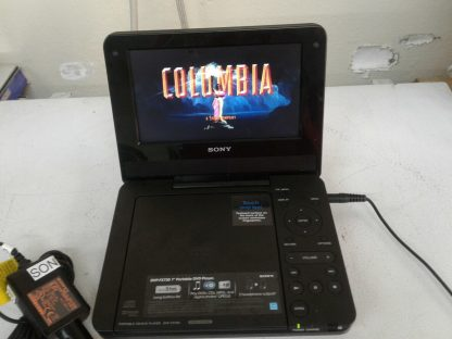 Sony DVP FX730 Portable DVD Player 7 with wall chargercar charger Works great 274490405411 3