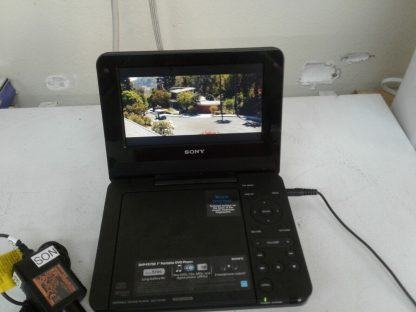 Sony DVP FX730 Portable DVD Player 7 with wall chargercar charger Works great 274490405411 5