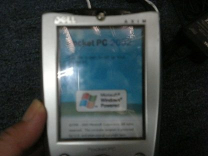 Vintage DELL AXIM Pocket PC X5 Stylus and Case Charger Dock Manual Works Good 264583201321 2
