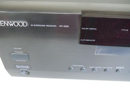 Vintage Kenwood VR 209 51 Channel Audio Video Home Theater Surround Receiver 274405633941 4