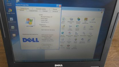 Vintage Laptop Dell Inspiron 1000 Win XP Outlook Express Wordperfect Office Work 264607168591 4