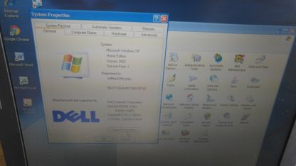 Vintage Laptop Dell Inspiron 1000 Win XP Outlook Express Wordperfect Office Work 264607168591 5