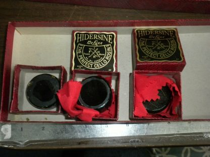 HIDERSINE 6C Deluxe Cello ROSIN MADE IN ENGLAND New Old Stock 3 cakes 273849469582 2