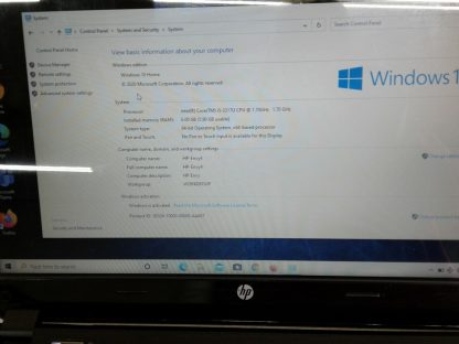 HP Envy 4 Intel i5 Black and Red Works Great Windows 10 Excellent 274508939272 2