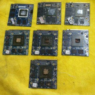 IMac Graphic Cards Lot Of 7 Unknown Assume Bad Sold As Is For Parts Or Repair 273861392862