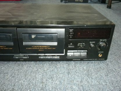 Vintage Audiophile Sony TC WR465 Dual Cassette Tape Deck working 264277759752 2