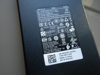 240W Power Supply Charger Adapter Dell Precision M4700 M6400 M6500 M6600 M6700 274069177173 2