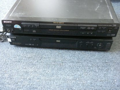 LOT Sony DVP NS300 DVP S560D DVD CD VCD Player Combo Audiophile Quality Great 273949770123