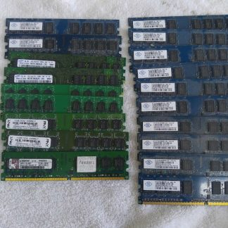 Lot of 19 1GB DDR2 Desktop RAM Memory DDR2 PC2 5300 PC2 6400 Non ECC 263959681933