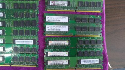 Lot of 23 Mixed brands 512MB PC2 3200 PC2 4200 PC2 5300 desktop RAM Memory 264304665653 3