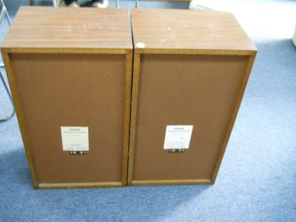 Rare Vintage Fisher 105 Audiophile Speakers SN 1 and SN 4 264716962503 2