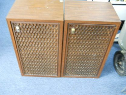 Rare Vintage Fisher 105 Audiophile Speakers SN 1 and SN 4 264716962503 3