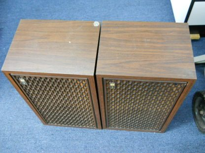 Rare Vintage Fisher 105 Audiophile Speakers SN 1 and SN 4 264716962503 8