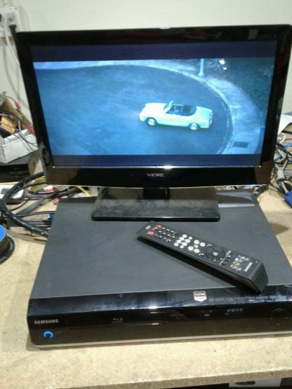 Samsung BD P1400 Blu Ray Disc Player w remote HDMI cable Works great 264845877113 4