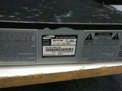 Samsung Blu Ray Disc Player BD P1500 Tested Working 264333142053 4