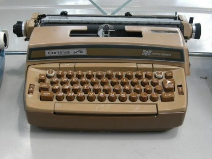 Smith Corona Coronet Super 12 Portable Electric Typewriter w Original Case 264263506353 3