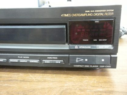 Sony CDP C500 5 Disc CD player changer Working 264580448053 3
