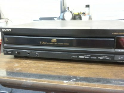 Sony CDP C500 5 Disc CD player changer Working 264580448053 4