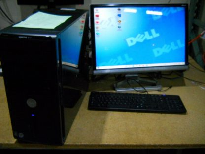 Dell Vosto 410 Gaming PC computer Windows 10 Nvidia Geforce 8600GTS Works Great 264721998344 3