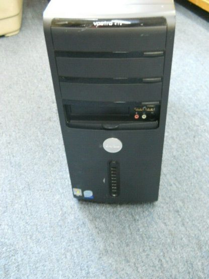 Dell Vosto 410 Gaming PC computer Windows 10 Nvidia Geforce 8600GTS Works Great 264721998344 5