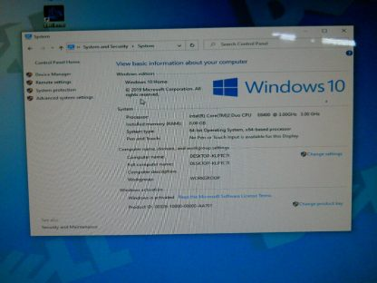 Dell Vosto 410 Gaming PC computer Windows 10 Nvidia Geforce 8600GTS Works Great 264721998344 7