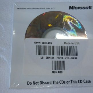 Office 2007 Home and student OEM Microsoft 273923911274