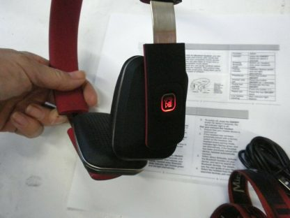 Royal HQS10 Red Bluetooth Headphones Works great 264609041684 10