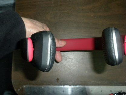 Royal HQS10 Red Bluetooth Headphones Works great 264609041684 7
