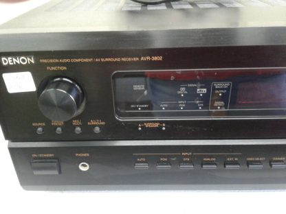 Vintage Denon AVR 3802 51 71 Home Theater Receiver Amplifier 240W channel 274537096444 2