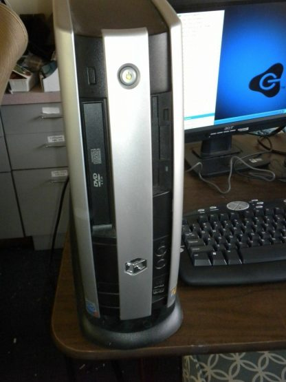 Vintage Gateway MFATXNIN DAS 300S Slim Desktop Win XP Works Great All Original 274147837124 7