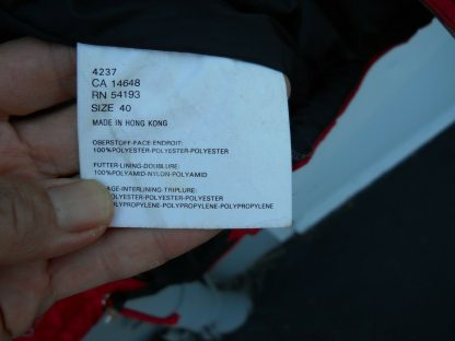 Bogner Mens Ski Winter Jacket with hoodie Red Black Size 40 274371757545 11