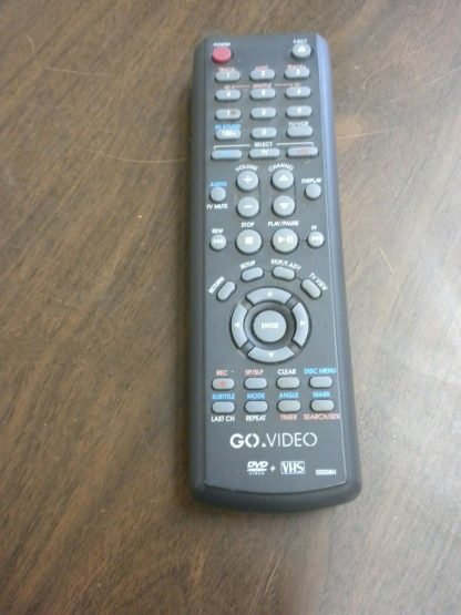 Go video DV2130 DVDVHS Dual deck player with remote 264580448065 2